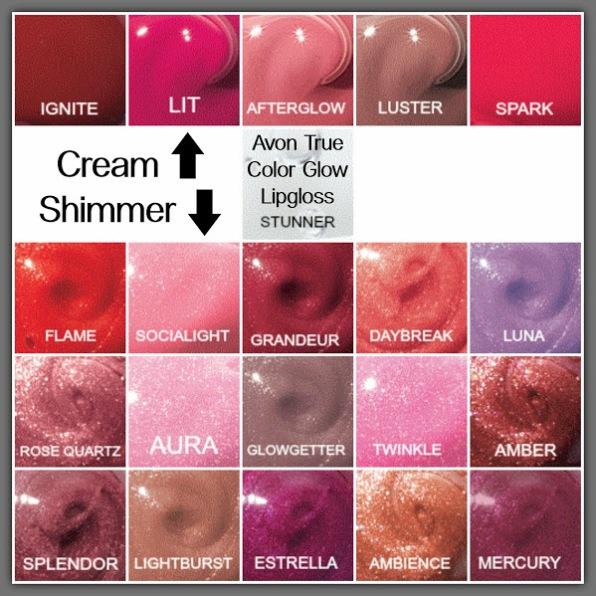 Lip Glow Colors