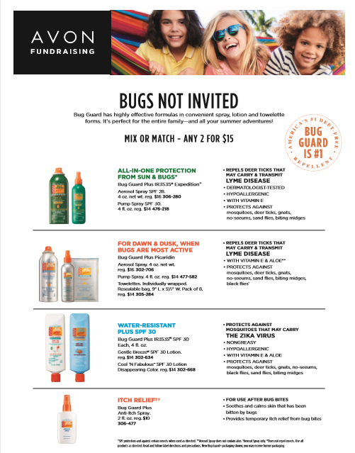 Bug Guard Fundraiser